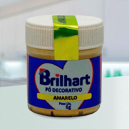 Pó de Brilho Cintilante Brilhart 5g Amarelo