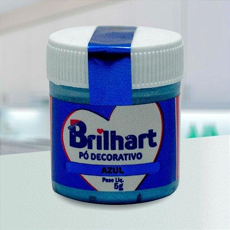 Pó de Brilho Cintilante Brilhart 5g Azul