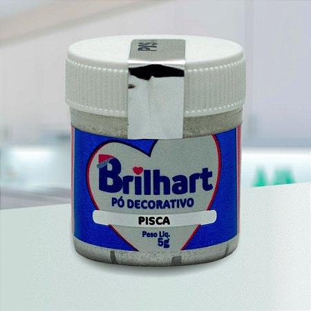 Pó de Brilho Cintilante Brilhart 5g Pisca