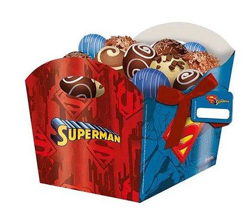 Cachepot Superman - 8 unidades