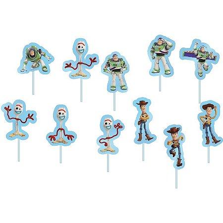 Palitos Decorativos Toy Story - 12 unidades