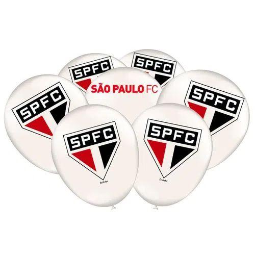 Balão de Festa São Paulo - 25 unidades