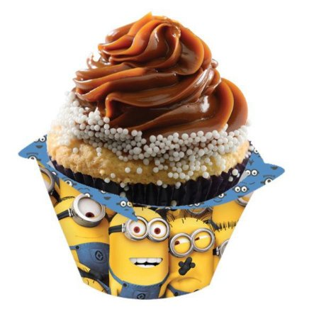Porta Cupcake Minions - 8 unidades