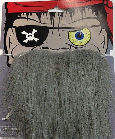 Barba Postiça Cinza