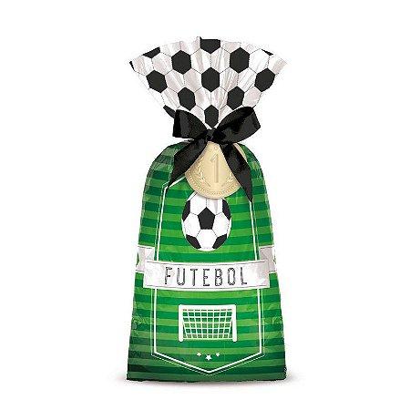 Sacola de Festa para Lembrancinhas Futebol - 8 unidades