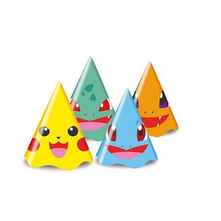 Chapéu Pocket Monsters Pokémon - 8 unidades