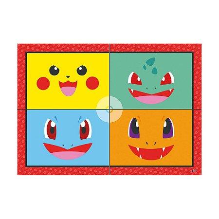 Painel Gigante Pocket Monsters Pókemon