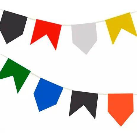 Bandeirinhas de Festa Junina Papel - 10 metros