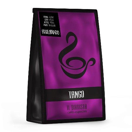 TANGO - Café especial com corpo médio, acidez média, aroma floral e fundo de baunilha