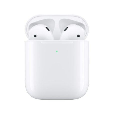 Fone de ouvido sem fio Airpods 2 com estojo de recarga sem fio - Apple