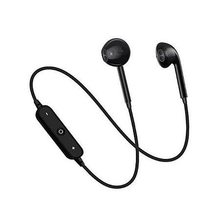 fone de ouvido bluetooth -  Sports Headset S6 com Microfone