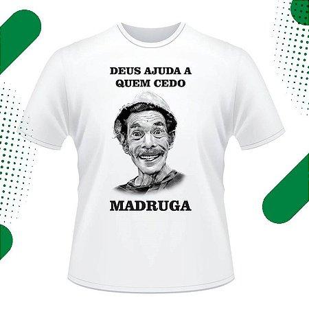 Camiseta Masculina com Estampa Personalizada em Sublimação