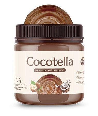 Cocotella Creme de Avelã Cacau Sem Açúcar 150g Cocodensado