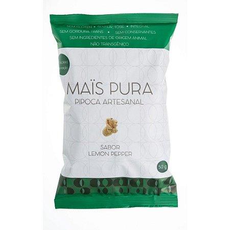 Pipoca Lemon Pepper 50g - Mais Pura