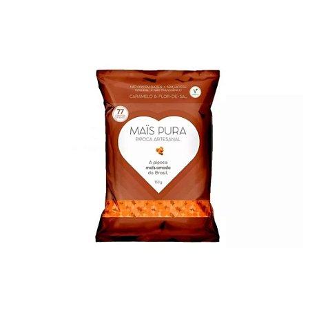 Pipoca Artesanal Caramelo com Flor de Sal 150g - Maïs Pura