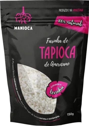 Farinha De Tapioca Flocada 100% Natural 150g - Manioca