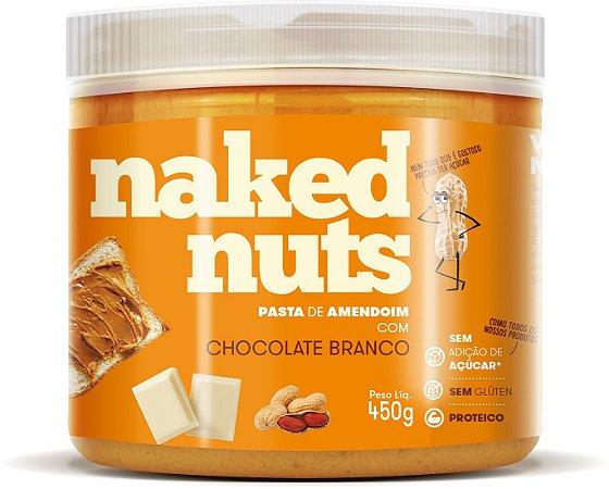 Pasta de Amendoim com Chocolate Branco 450g - Naked Nuts