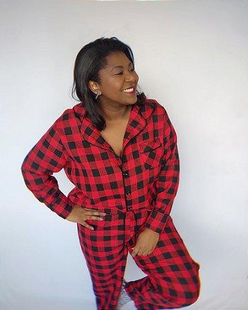 Pijama de Inverno Xadrez GG
