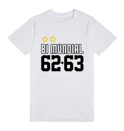 Camiseta Bi Mundial 62-63