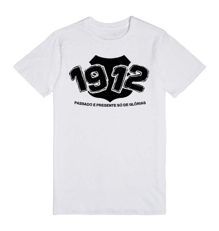 Camiseta Passado e Presente 1912
