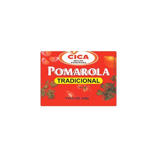 MINIATURA MOLHO TOMATE POMAROLA C/10