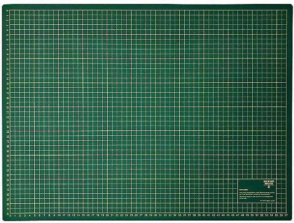 Base de corte de plastico verde 60x45cm