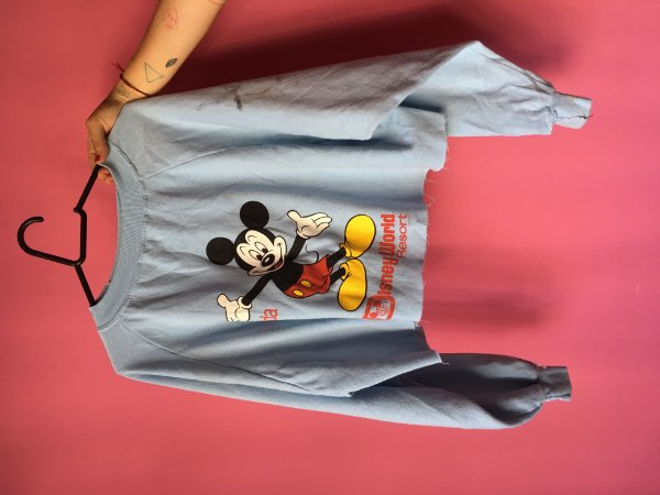 moleton Disney Official brechó - tamanho G