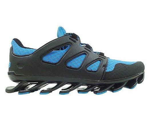 Tênis Adidas Springblade Pro Azul e Preto MOD 14158 - Atacado Barato 8c27be5a89c6a