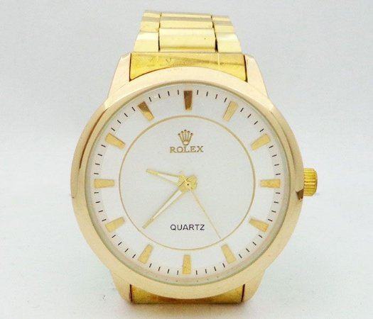 fbdd201b53b Relógio Rolex Dourado MOD 51710 - Atacado Barato