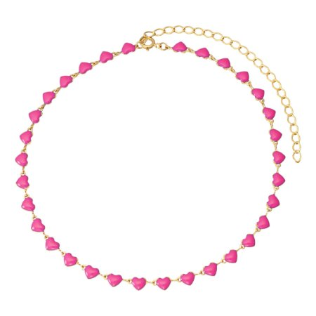 Colar pink neon