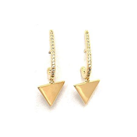 Earhook Triângulo