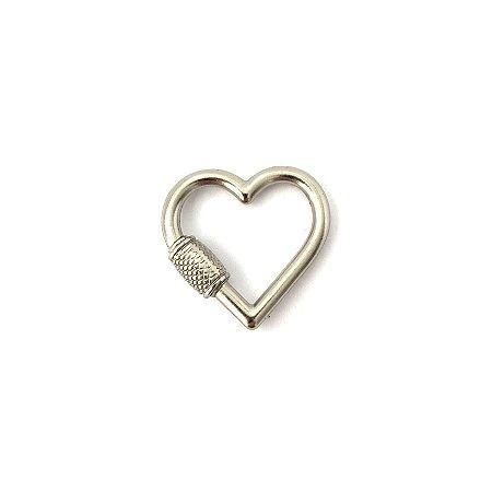Mosquetão Coração