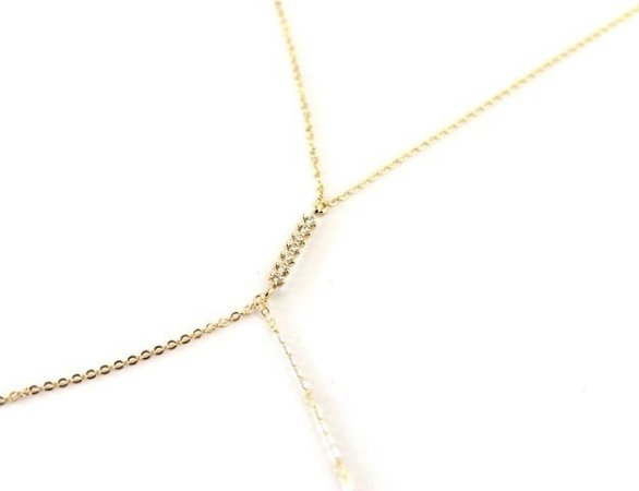 Body Chain Ouro