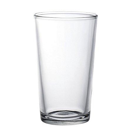 Copo p/ Suco e Água em Vidro Liso Grande - 340 ml