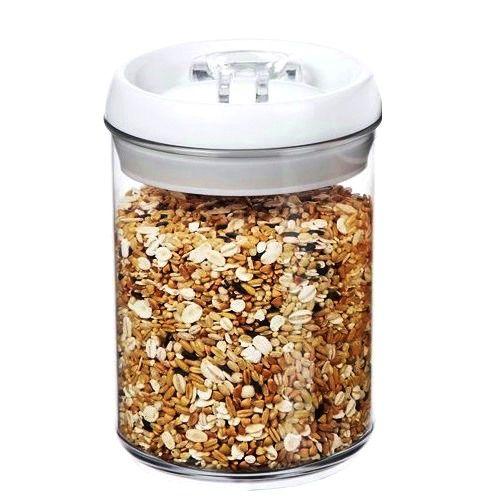 Porta Mantimentos Hermético em Acrílico 900 ml