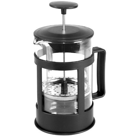 Cafeteira Francesa French Press Plastico e Vidro 600 ml