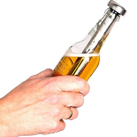 Bastão Resfriador em Inox para Garrafas Bebidas Acoplável