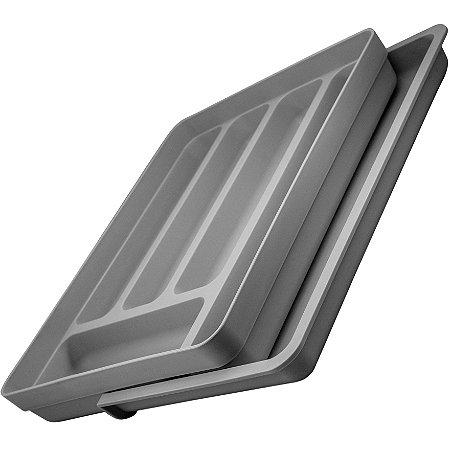 Organizador Extensível p/ Gavetas de Cozinha 6 Cavidades