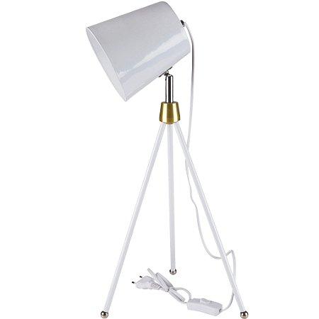 Luminária de Mesa Articulada Profissional Retrô