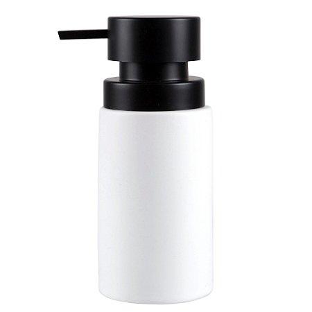 Dispenser Porta Sabonete Líquido e Detergente em Cerâmica