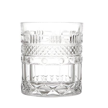 Jogo 6 Copos Baixos p/ Whisky e Drinks em Cristal