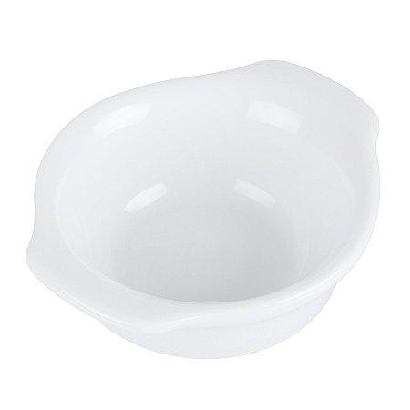Ramekin Liso em Cerâmica c/ Alças 8 cm - 100 ml