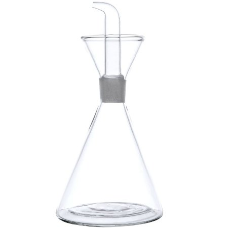 Galheteiro Azeiteiro em Vidro Borossilicato Anatômico 250 ml