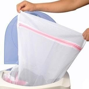 Saco Protetor p/ Lavar Roupas 30x40