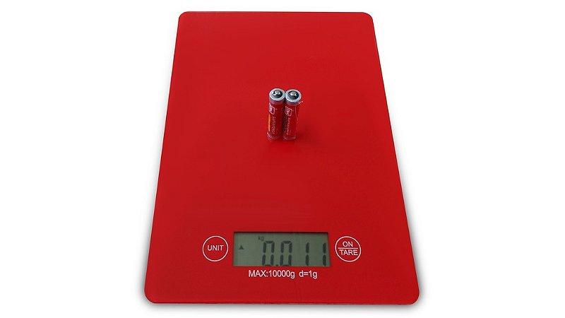 Balança de Cozinha Digital Alta Precisão Vidro 1g em 1g