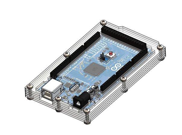 Case Para Arduino Mega 5 camadas
