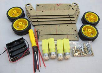 Kit Chassis Drone com tração em 4 Rodas