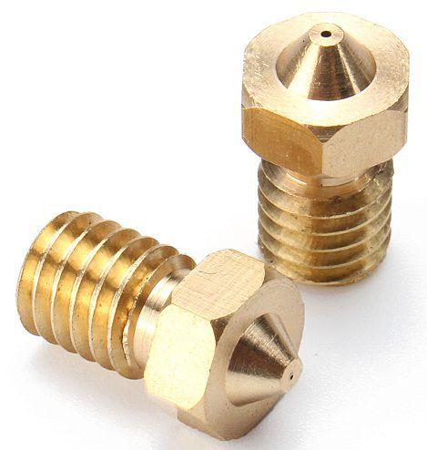Nariz para extrusora de impressora 3D MK8 1,75mm / 0,2mm