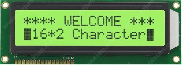 DISPLAY e LCD LCD 16X2 COM  BACKLIGHT