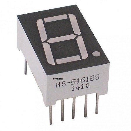 DISPLAY e LCD ANODO COMUM HS-5161BS MASC.PT LUZ VM
